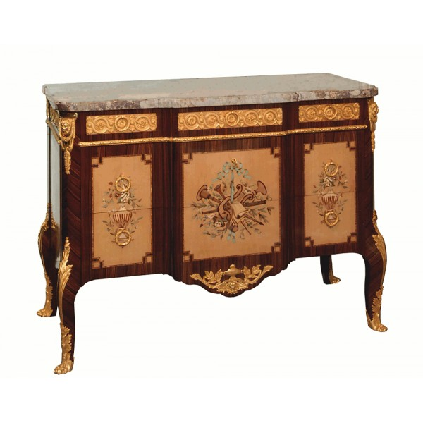 Commode Transition marquetée