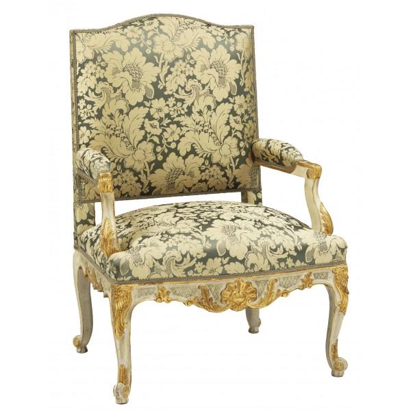fauteuil-regence-dore-